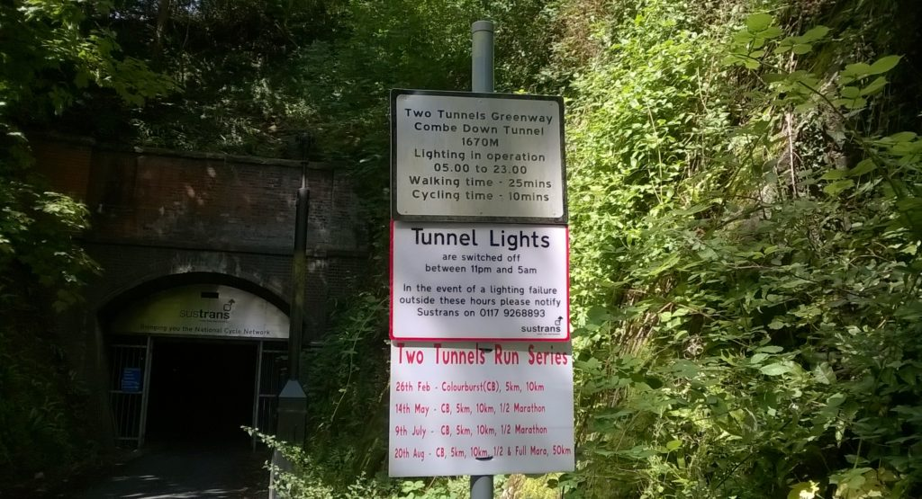 Tw3o tunnels Greenway